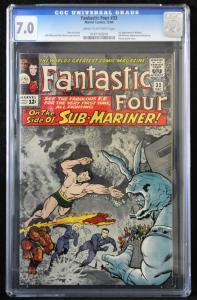 Fantastic Four #33 (Marvel, 1964) CGC 7.0