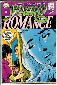 YOUNG ROMANCE #156 1968-DC ROMANCE G/VG