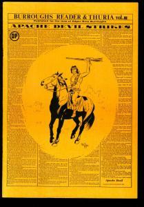 BURROUGHS READER & THURIA-#3 EDGAR RICE BURROUGHS ZINE VF