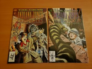 Young Indiana Jones Chronicles 1-2 Complete Set Run! ~ NEAR MINT NM ~ 1992