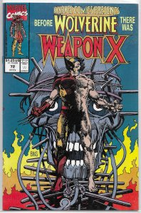 Marvel Comics Presents vol. 1 # 72 FN/VF Weapon X, Shanna, Daredevil, Red Wolf
