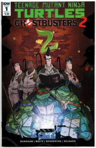 TMNT Teenage Mutant Ninja Turtles Ghostbusters II #1 Cvr A (IDW, 2017) NM