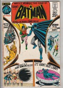 Batman #228 (Feb-71) VF+ High-Grade Batman, Robin the Boy Wonder