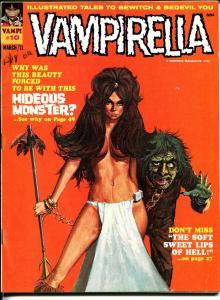 Vampirella #10 1971-Warren-horror-Neal Adams-Wally Wood-Brunner art-FN/VF