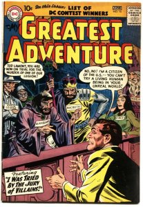 MY GREATEST ADVENTURE #15-1957-JACK KIRBY-RUBEN MOREIRA-MORT DRUCKER ART-RARE