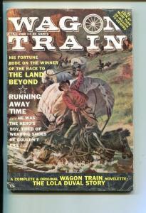 WAGON TRAIN-#1-JULY 1960-PULP FICTION-SOUTHERN STATES PEDIGREE-fn