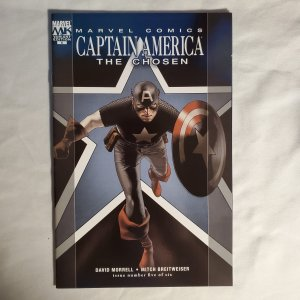 Captain America The Chosen 5 Very Fine/Near Mint Cover by Travis Charest