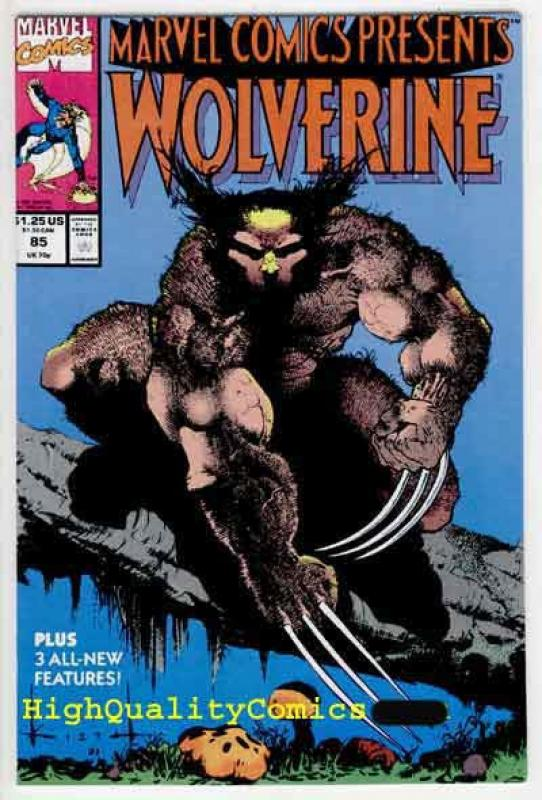 MARVEL COMICS PRESENTS #85, VF/NM, Wolverine, Sam Kieth, more MCP in store