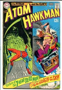 THE ATOM & HAWKMAN #41 1969-Joe Kubert/Murphy Anderson VG
