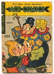 Ace Comics #132 1948- PHANTOM- Prince Valiant FR