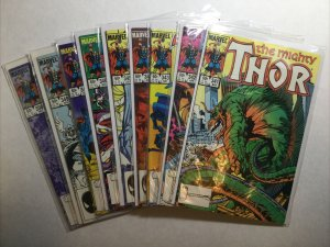 Thor 341-346 341 342 343 344 345 346 348-350 Lot Run Set Nm- 9.2 Marvel