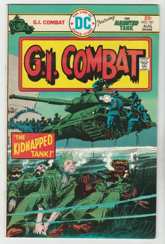 G.I. Combat #181 (Aug-75) FN/VF- Mid-High-Grade The Haunted Tank