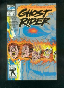 GHOST RIDER #25--1992-ELUSIVE POP UP BOOK-SPECIAL ISSUE NM