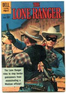 Lone Ranger #137 1961- Dell Western comic- Clayton Moore F/VF
