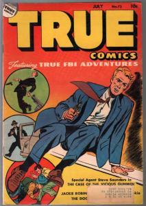 True #72 1948-Parents-Steve Saunders-FBI-Jackie Robinson-VG