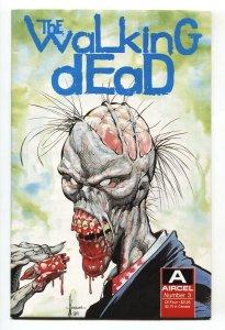 Walking Dead #3 1989 Aircel Zombie comic book