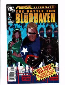 Lot of 6 The Battle for Bludhaven DC Comic Books #1 2 3 4 5 6 J127