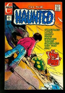 Haunted #12 1973- Charlton Horror Comics-Staton cover- FN