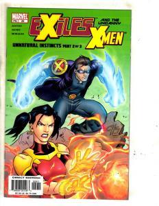 Lot Of 10 Exiles Marvel Comic Books # 29 30 31 32 33 34 35 36 37 38 X-Men MF9