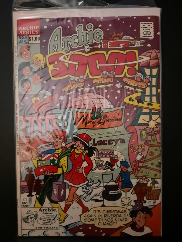Archie 3000! #6 (1990)
