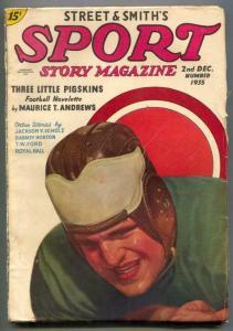 Sport Story Pulp 2nd December 1935- Jim Thorpe VG+