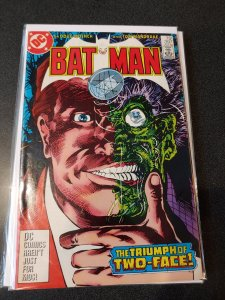 BATMAN #397 VF/NM TWO-FACE ISSUE
