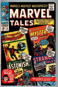 MARVEL TALES #5-1966-SPIDER-MAN--THOR--HUMAN TORCH--SILVER AGE FN