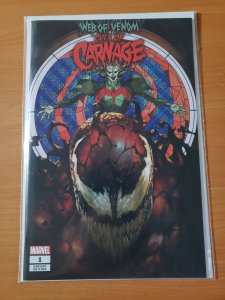 Web Of Venom Cult Of Carnage #1 KNULL Stain Glass Variant Cover!