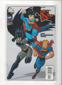 Superman/Batman #24 DC Comics  Superwoman Batwoman Darkseid NM