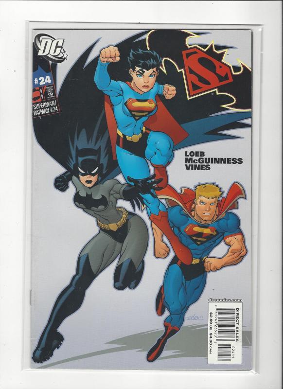 Superman/Batman #24 DC Comics  Superwoman Batwoman Darkseid NM