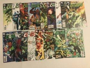 Green Lantern Corps lot of 17 various comics