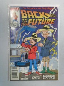 Back to the Future #1 4.0 VG (1991 Harvey)