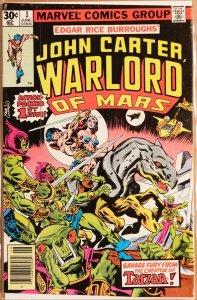 John Carter Warlord of Mars #1 - Fine- 5.5 (1977)