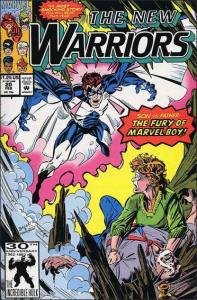 Marvel THE NEW WARRIORS (1990 Series) #20 VG