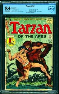 Tarzan #207 CBCS NM 9.4 Off White to White