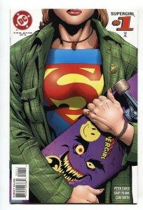 SUPERGIRL #1-1996-1st SSUE-DC SKATEBOARD COVER