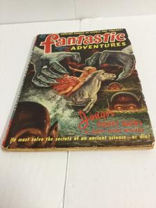 Fantastic Adventures Vol 13 Number 12 Vg Very Good Pulp Comics