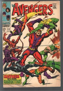 BIG SALE! AVENGERS 55 F/VF 1st FULL ULTRON;GREAT PRICE;EVERYTHING ON SALE!