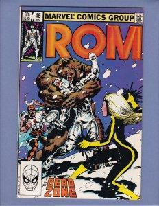ROM #45 NM- Marvel 1983