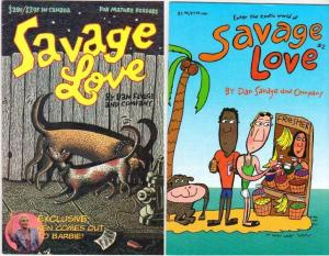 SAVAGE LOVE (1996 BEAR BONES) 1-2  'Soooo GLBT'
