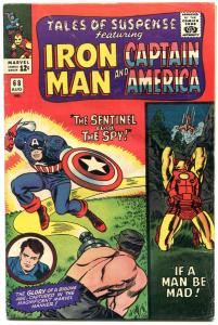 Tales Of Suspense #68 1965 -IRON MAN-CAPTAIN AMERICA- vg