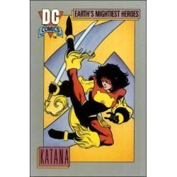 1991 DC Cosmic Cards - KATANA #61