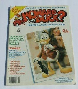 Howard The Duck #1 VG/FN 1979 Bronze Age Marvel Magazine Movie TV Pop Culture