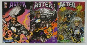 Aster: the Last Celestial Knight #1-3 VF/NM complete series - leinil yu - entity