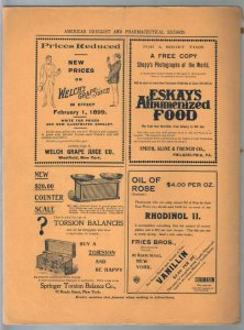 American Druggist 2/25/1899-drug store info-Heroin-drug world news-VG