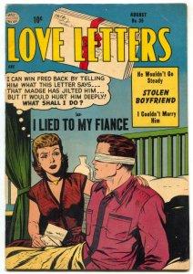 Love Letters #35 1954- Golden Age Romance- FN