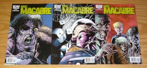 Doc Macabre #1-3 VF/NM complete series - steve niles - bernie wrightson - horror