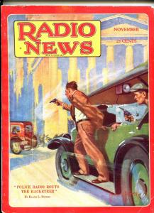 RADIO NEWS 11/1929-HOWARD V BROWN-GUNFIGHT-HAM RADIO-TELEVISION-fn