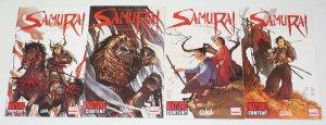 Samurai: Legend #1-4 VF/NM complete series - soleil marvel comics 2 3 set lot