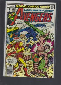 The Avengers #163 (1977)